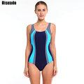 Riseado 2016 New Sports One Piece Swimsuit Swimwear Women Sexy Backless Bodysuits Swim maillot de bain