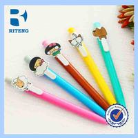 Personalised Souvenir Plastic Cartoon Ball Pen For Kids As A Gfit
