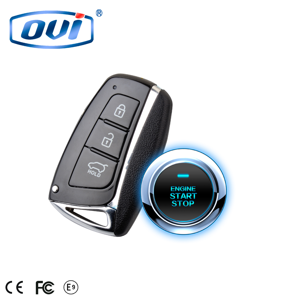 Car Alarm That Calls Cell Phone Remote Keyless Entry Car Alarm System With  Remote Engine Starter Pke Auto Lock / Unlock - Buy Car Alarm That Calls