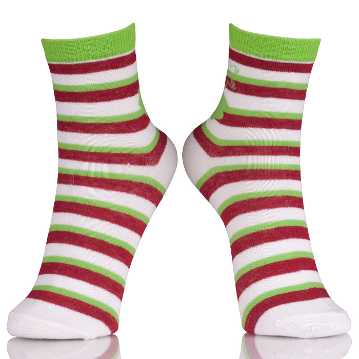 Fashion Womens Cotton Socks With Designs
