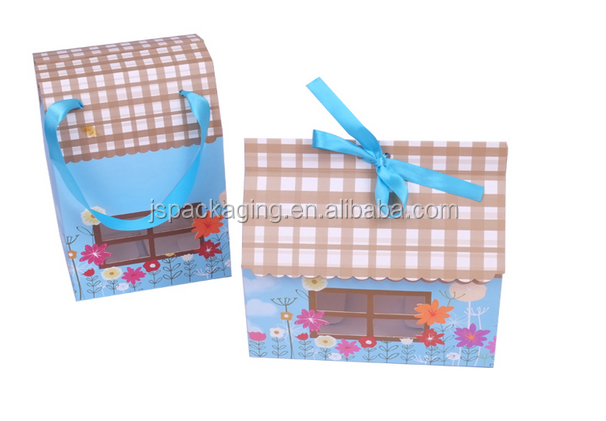 Craft Paper House Shape Box Craft Crown Paper Craft Picture Frame ...