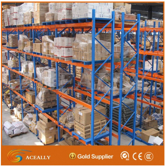 Alibaba Industrial Use Heavy Duty Pallet Racking for Warehouse Storage