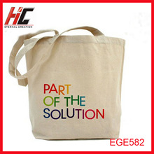 factory directly supply blank canvas or cotton tote bags wholesale custom printed logo