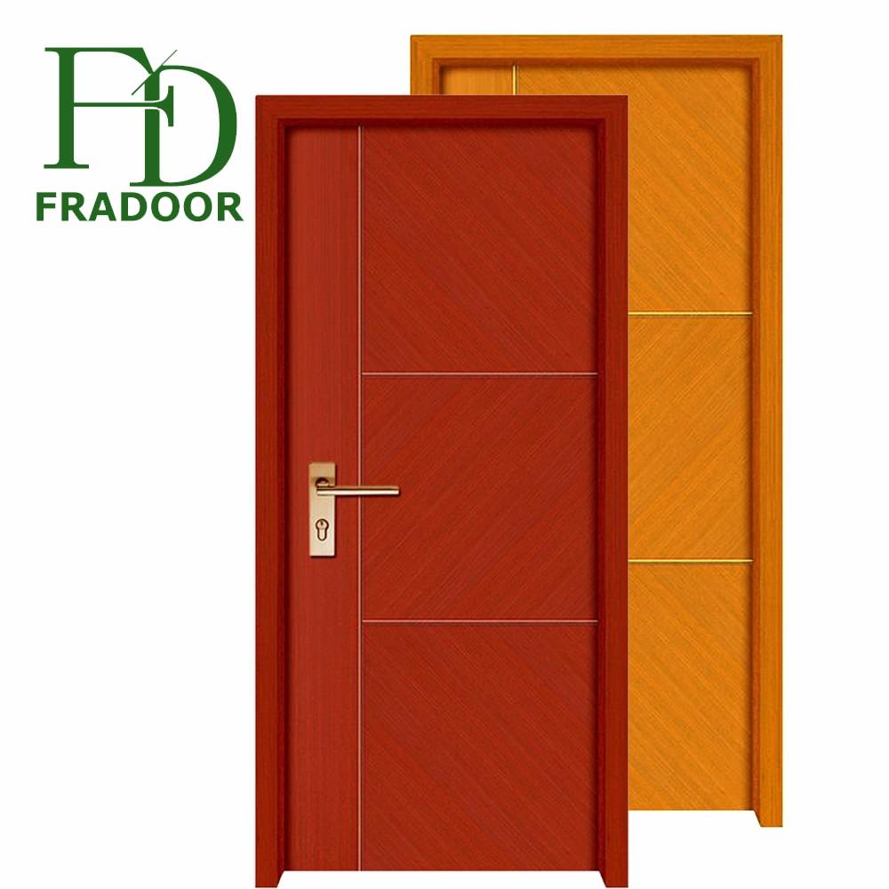 Cheap Price Single Interior House Pvc Wooden Room Door For Sale - Buy  Single Interior House Doors,House Room Pvc Wooden Door,Room Pvc Door For  Sale