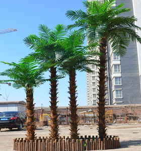 Big Palm Tree Camouflaged Dry Tree Pole Steel Mounted Tree Made In China
