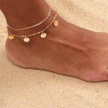 Женские ножные браслеты XIYANIKE, богемные ножные браслеты ручной работы, вечерние пляжные украшения, B32(Китай)