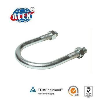 Stainless Steel Aisi304/316 U Bolt With Washer Plate And Nuts - Buy U Type  Fasteners,High Tensil U Bolt,High Strenth U Bolt Product on Alibaba com