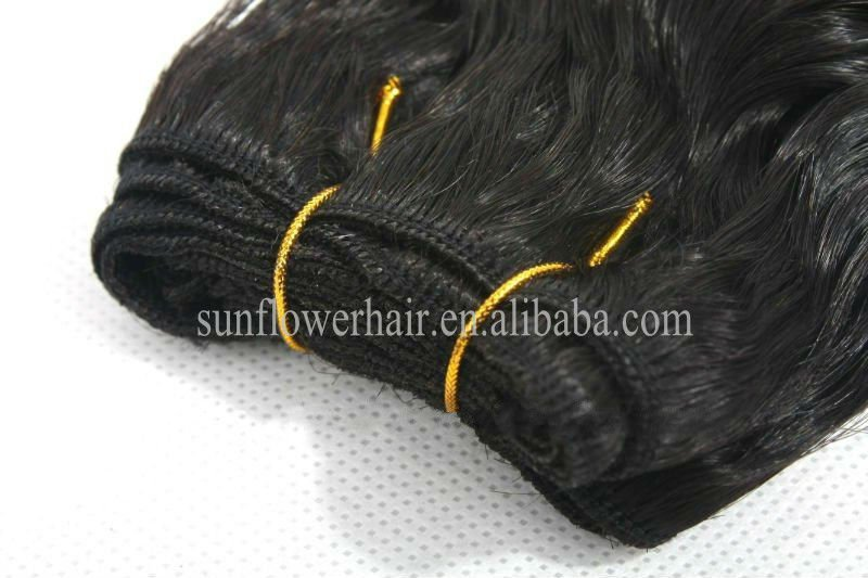Hand tied Brazilian virgin hair braiding