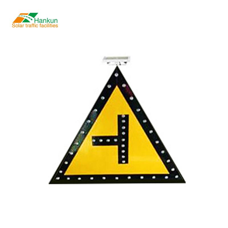 تحذير تستخدم علامات إشارة Led مرورية علامة لوحة مقطورة مدعوم مقطورة لوحات وامض الشمسية الطاقة لوح أسهم