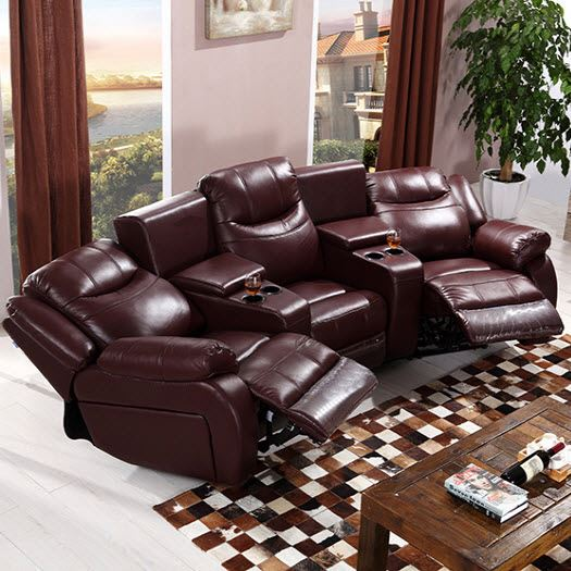 Cinema Sofa With Recliner Lazy Boy Sofa Bed Top Grain Leather Vip Cinema  Sofa Set - Buy Home Cinema Leather Sofa,Italy Leather Sofa,Recliner Sofa ...