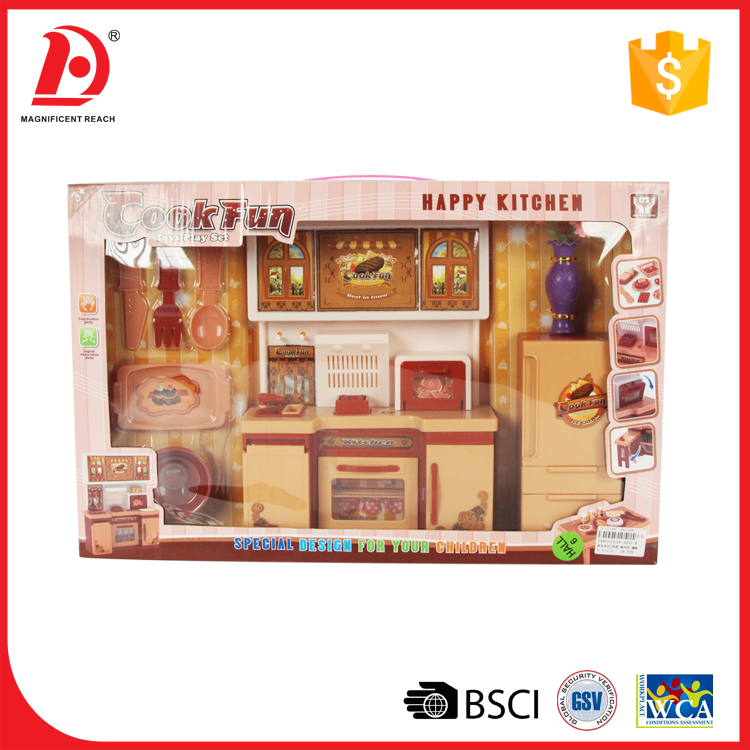 Preschool Furniture Toys Plastic doll house furniture and accessories