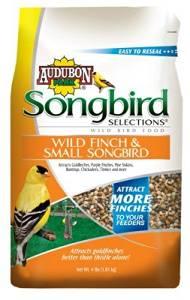 Scotts Songbird 1022684 Wild Bird Finch And Small Songbird Blend, 4 Pound (Pack Of 6)