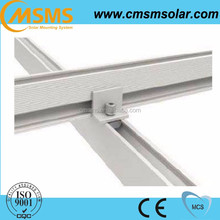 aluminium rail solar bracket mounting accessory for solar system