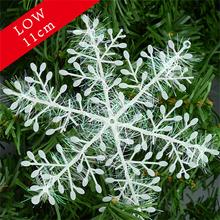 font b Snowflake b font font b Christmas b font Ornament 3pcs 1pack White Plastic