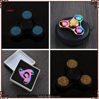 Métal arc coloful EDC Main spinner fidget jouets