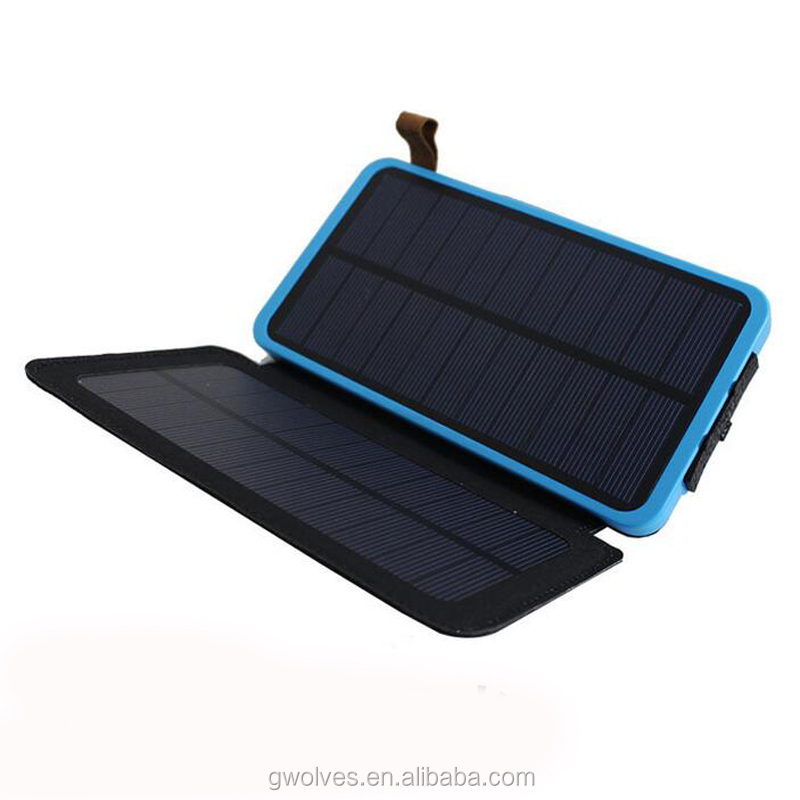 2017 new mobile power bank solar mobile power supply power source