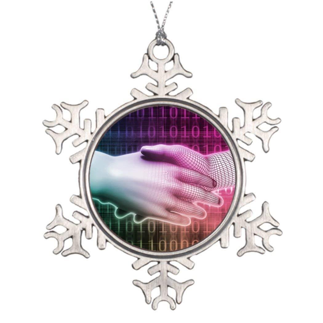 Sedlockyvq Ideas For Decorating Christmas Trees Digital Handshake Between Man and Machine Xmas Tree Decorating Ideas