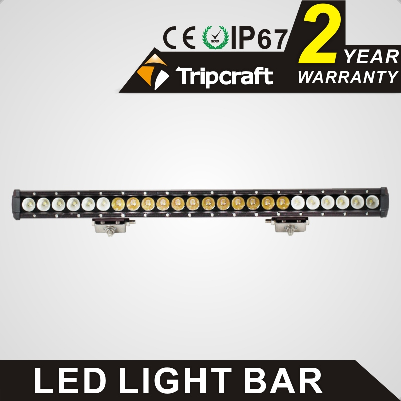 Waterproof Single Row Spot&Flood Combo Driving Lamp Aluminum Alloy 120w Led Light Bar for Off Road
