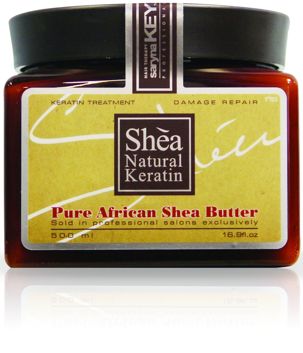 Saryna Key Damage Repair Hair Mask,Pure African Shea Butter 16.9 Ounce PLUS Saryna Key Damage Repair Treatment Special Kit as a GIFT