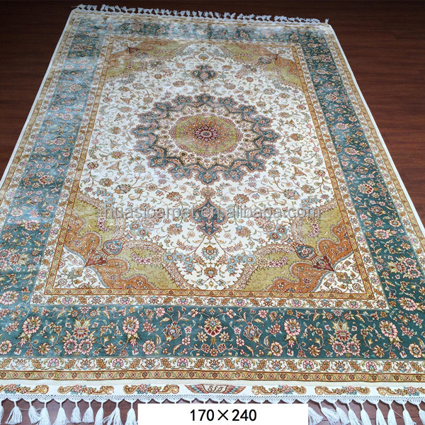 Venta al por mayor alfombras kashmir compre online los for Alfombra persa azul