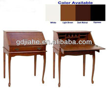 wooden Writing desk,secretary desk,MDF laptop computer desk with foldable