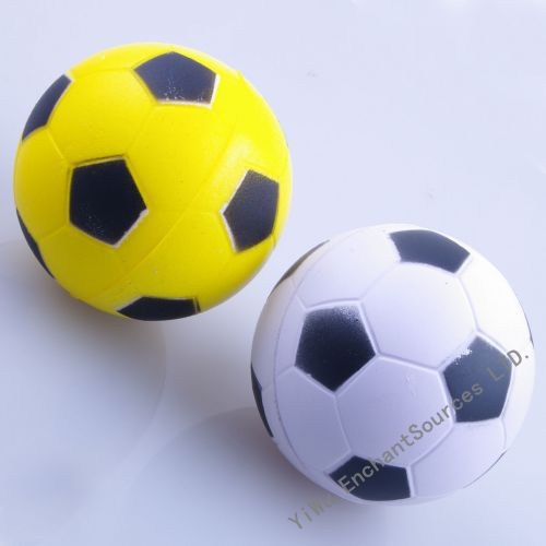 Football design foam soft pu balls