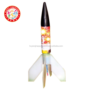 Liuyang Happy fireworks for sale 11'' missle rocket