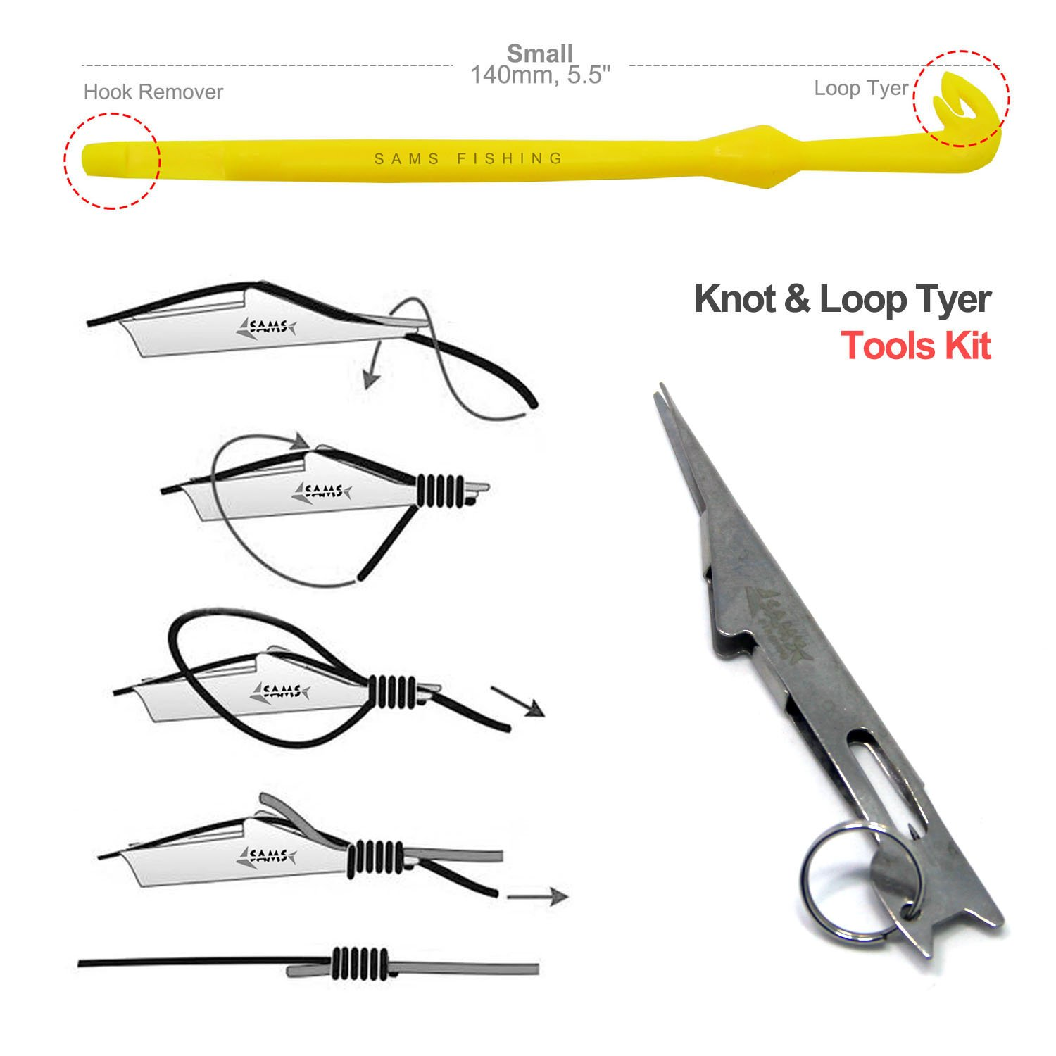 Cheap Knot Tying Tool For Fly Fishing Find Tie Diagram Get Quotations Samsfx Angler Accessories Fast Nail And Loop Tyer Kit