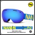 Shipping free brand ski goggles shortsightedness anti fog UV400 man ski eyewear esqui outdoor sports women