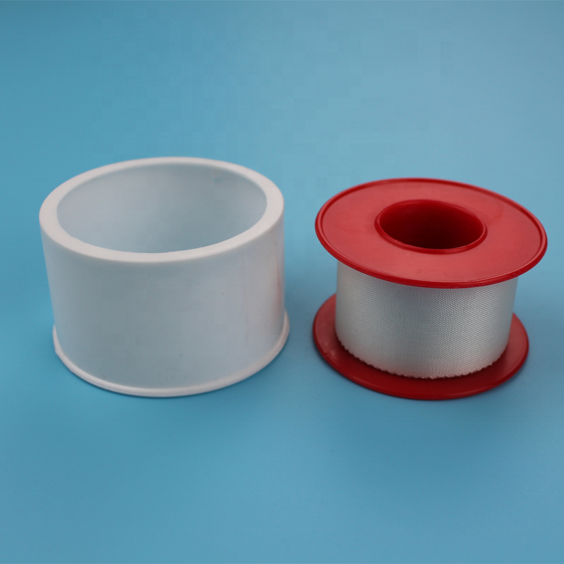 Plastic Spool Medical Silk Adhesive Plaster Roll Surgical Silk Tape