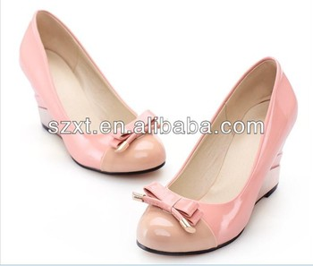 Bowknot High Heel Shoes Cheap Nice Shoes Girls Branded Shoes Copy ...