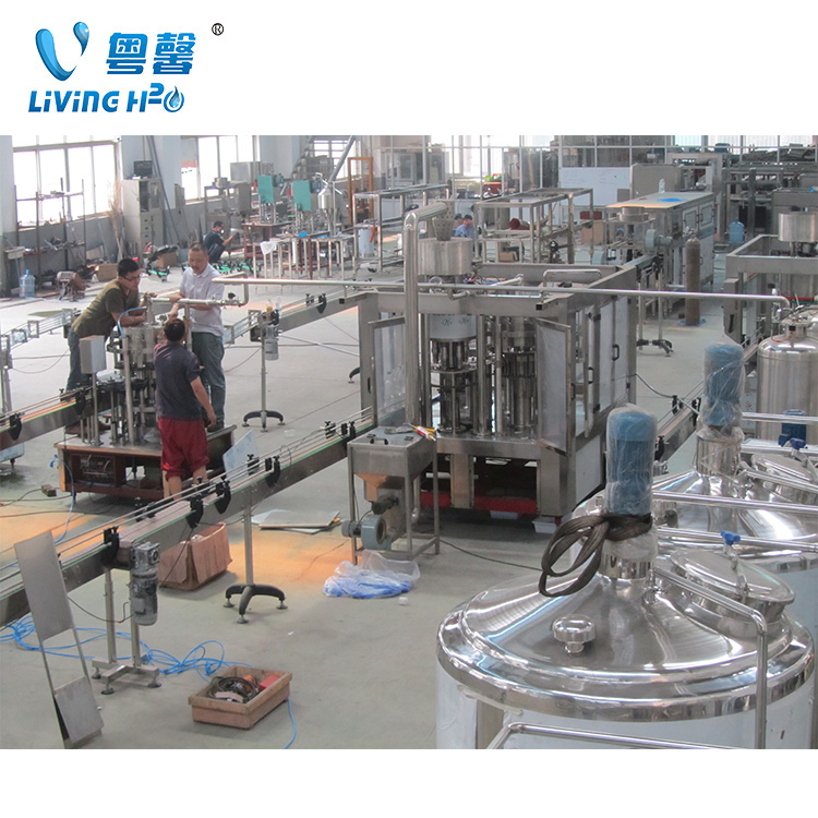 Reliable carbonated drink can filling machine / juice beverage capping equipment / beer making packing production line