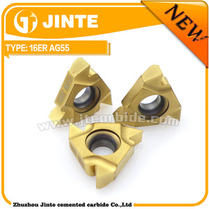 JINTE external 16ER Angle 55 grade AS300 right hand general use carbide threading insert