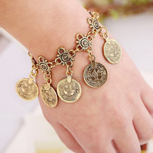 Gypsy Sandals Gold Silver Turkish Coin Bracelet Anklet Ankle Beach Foot Jewelry Chain