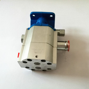 two stages internal gear pump for manual log splitter