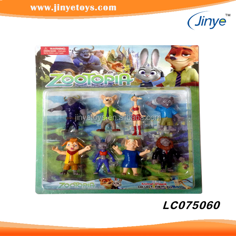wholesale toys for kids hot sale City of wild animals zootopia