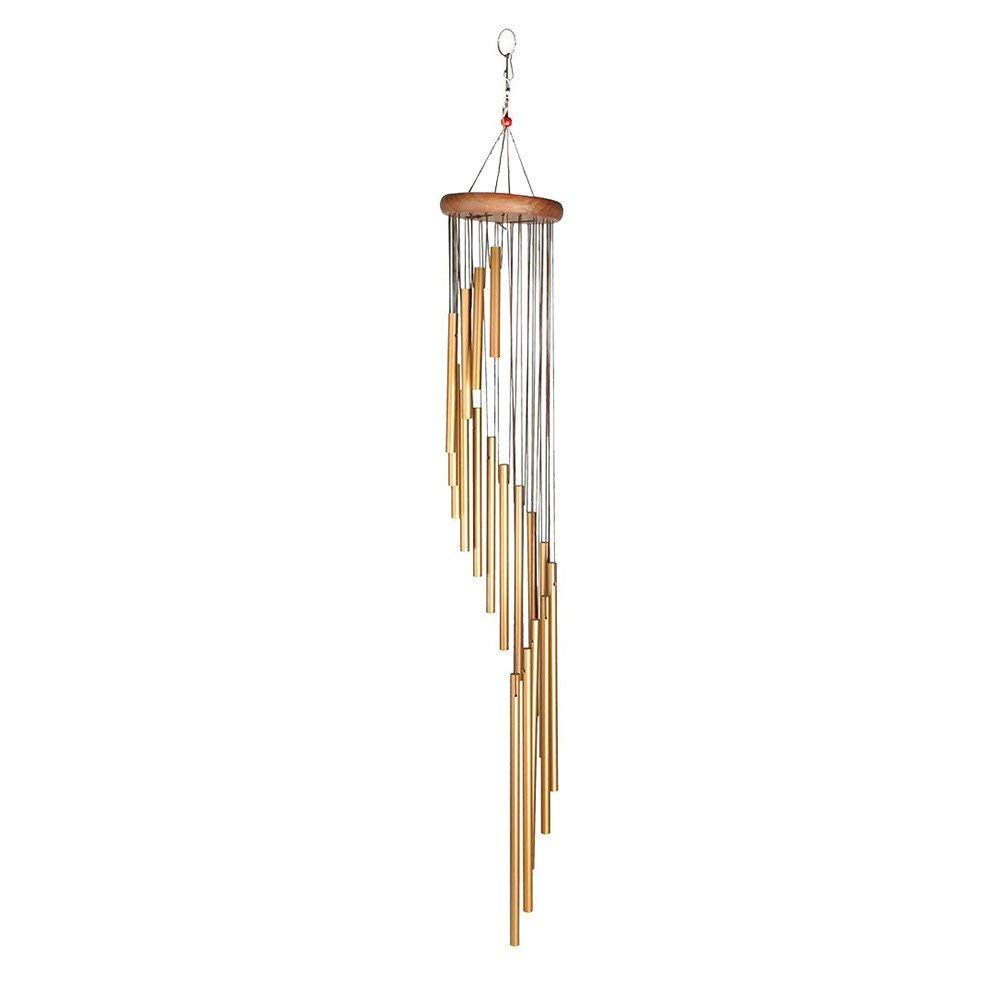 KEUS Metal Wind Chimes,Wind Chime Metal Tubes Perfect For Patio,Garden,Outdoor Décor