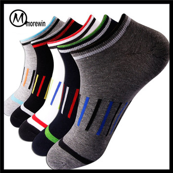 6d39005f122b9 Morewin socks wholesale man 100%cotton dress socks amazon hot sale custom  ankle socks men