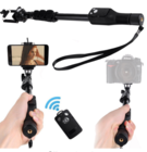 Photography Accessories Yunteng 1288 YT-1288 Selfie Stick With Shutter