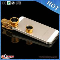 2016 Promotional Gift Items 3 in1 camera lens phone with CE RoHS OEM LOGO