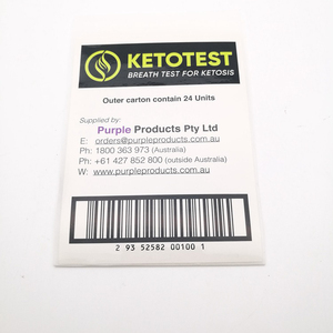 High quality custom 2 layers logistics thermal Label sticker with bar code