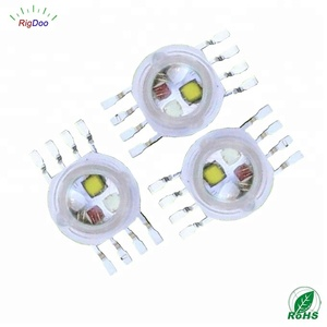 PLCC8 High Power 8 Pin SMD LED 4W - 12W RGBW LED Diode Chip LED