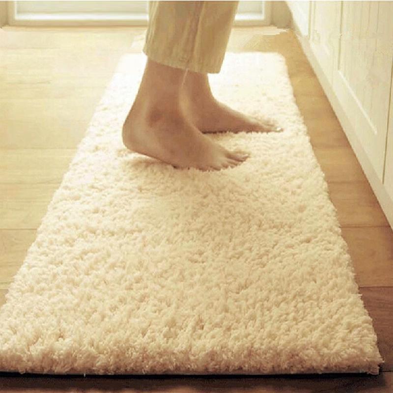 Plush Rug Floor: Long Plush Shaggy Soft Carpet Area Rug, Super Soft Solid