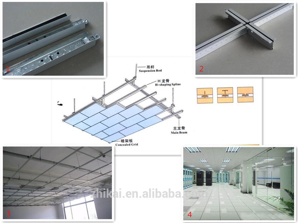 Faux Plafond Suspension Syst 232 Me Ferroviaire Angle De Mur