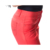 Neueste Red Pocket Office Hose Elastische Damenhose