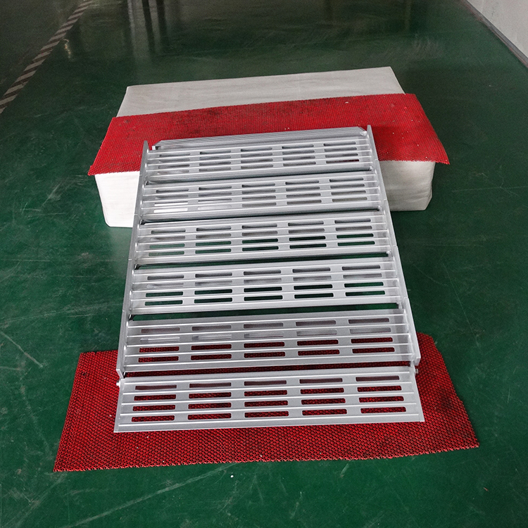Productos de China al por mayor hogar ruedas temporal rampas de aluminio para escaleras