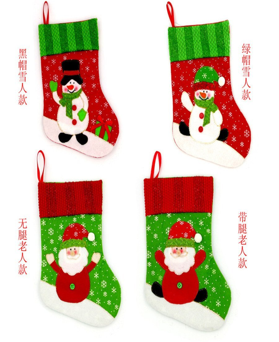 Buy Sirwolf Christmas Stockings for Kids Christmas Decorations Cute ...