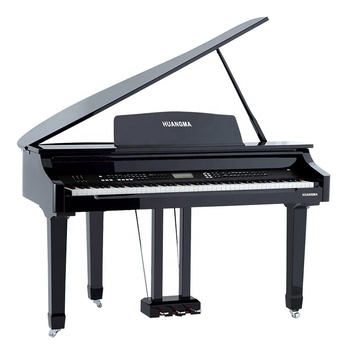 Top-selling Mini Digital Grand Piano Factory 88 keys Touch Keyboard MIDI Black Polish Musical Instrument roland keyboard