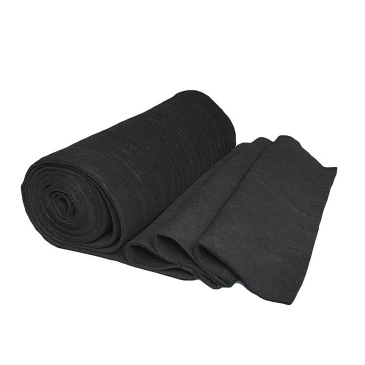 black carbon felt battery, graphite insulation felt