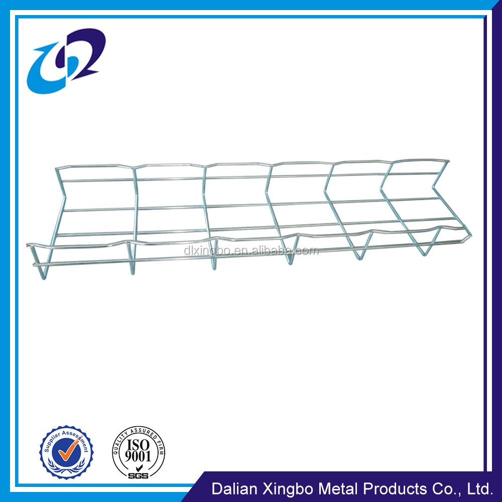 Electric system galvanized wire mesh perforated cable tray